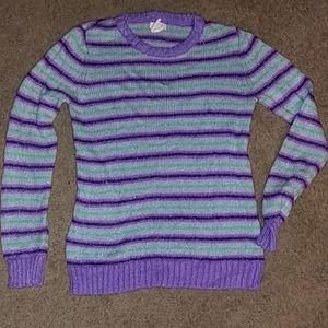 Girls cute sweater size large